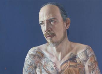 Self Portrait at 40 by Jumprabbit