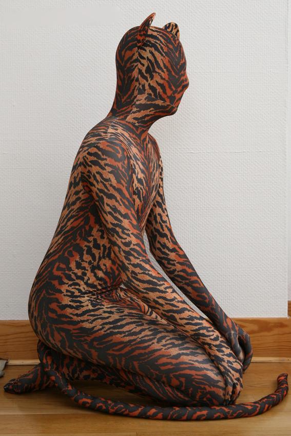 Tigerly Seiza Sitting by Lycro