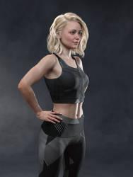 Tess in Sports Wear