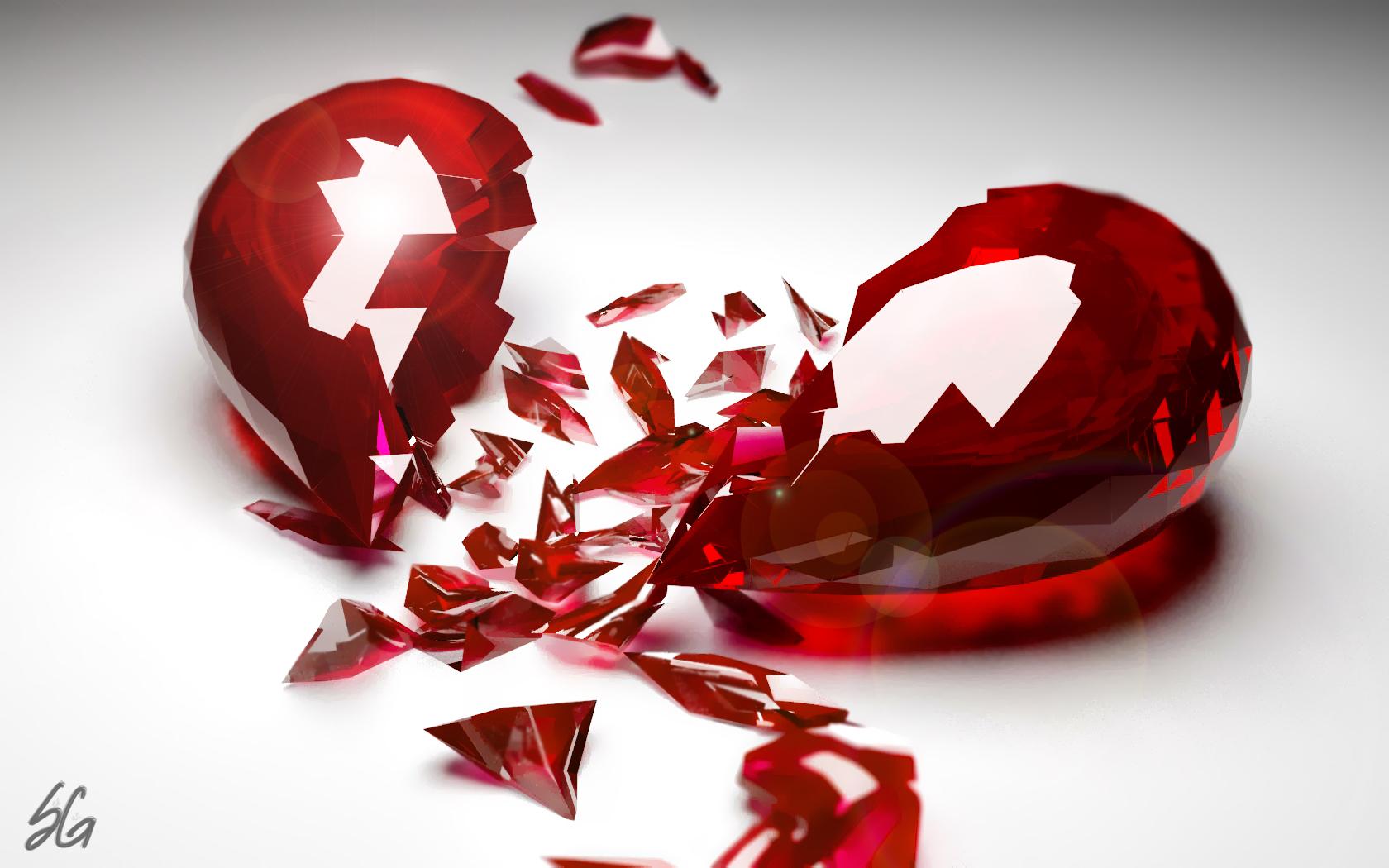 Shattered Heart by DemonVash08