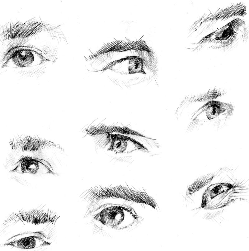 This is an image of Unusual Drawing Expressions Practice