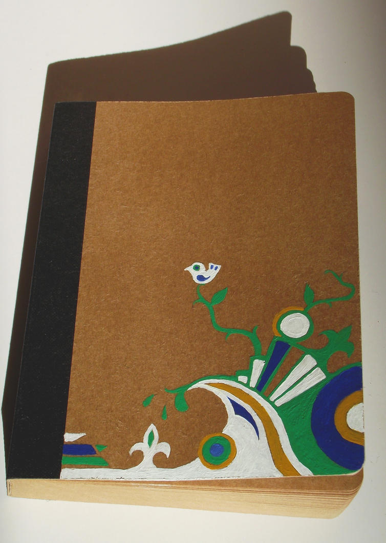 Notebook Cover Art ~ Notebook cover by otohime on deviantart