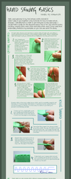 Hand Sewing Basics - Tutorial by otohime0394