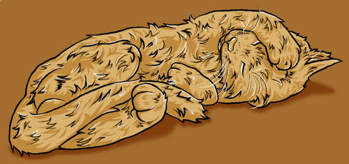 Butterscotch Cat by otohime0394