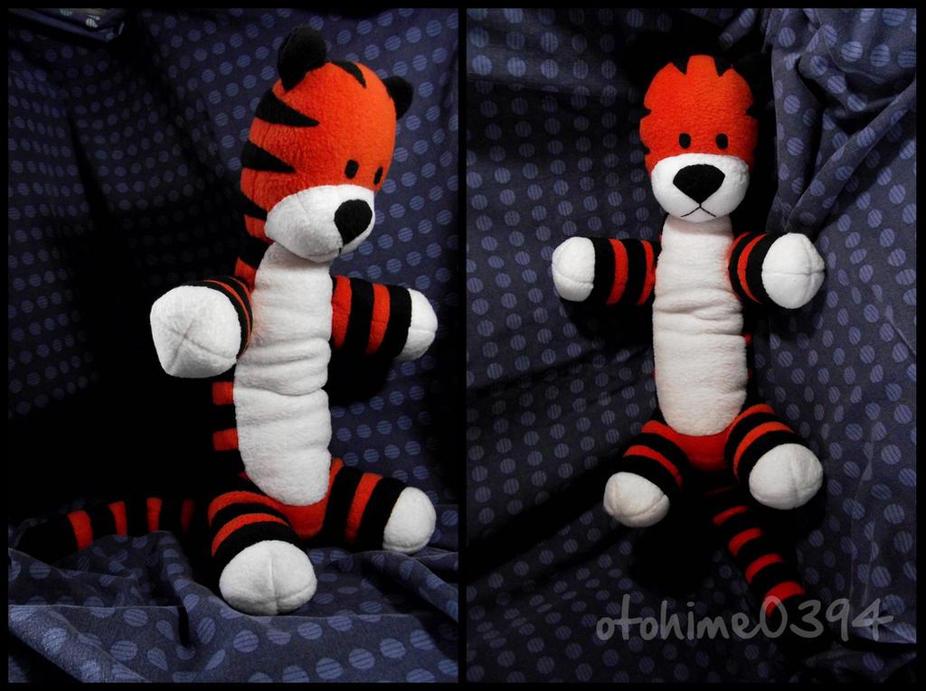Hobbes Plushie by otohime0394