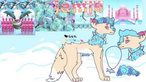 Jamie - wolf OC