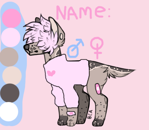 Canine Adopt 9 - OPEN (10 pts) by loveart56