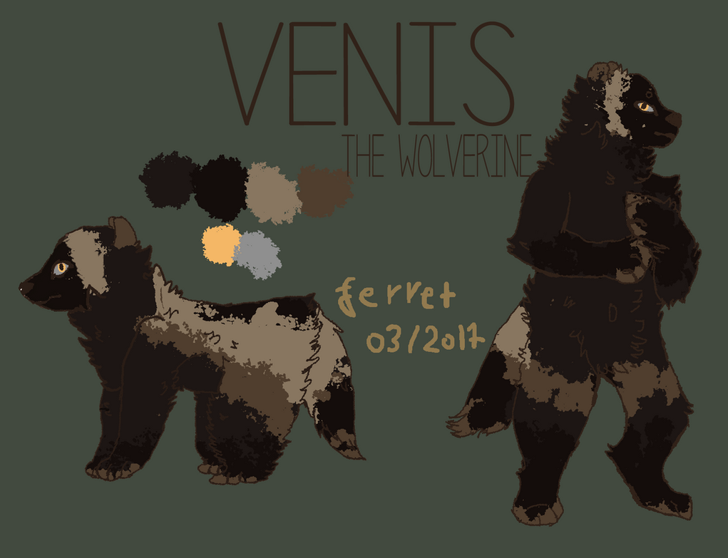 Venis - Wolverine OC by loveart56