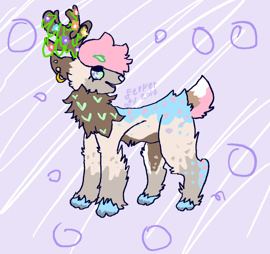 Deer that IS CALLED CLIRAN by loveart56