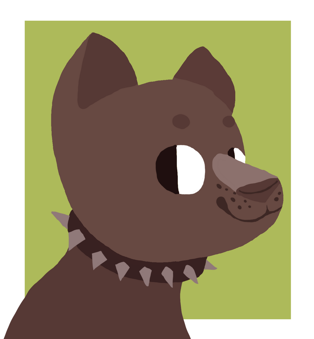 idk lineless doggo by Ferretser