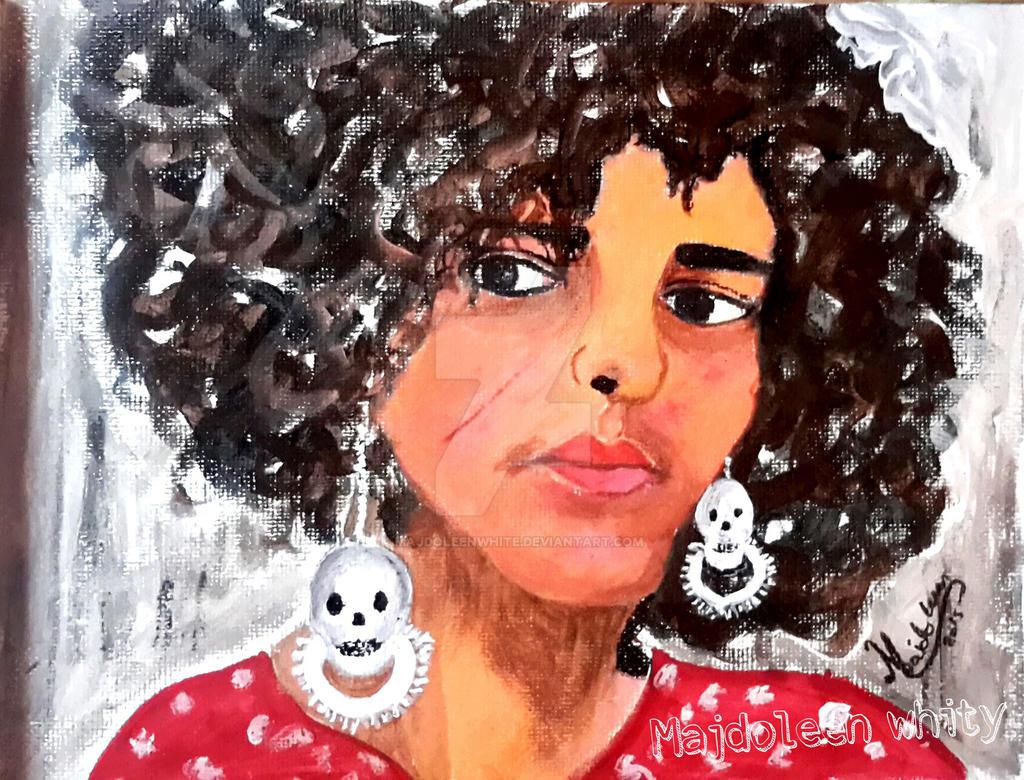 Maryam by MajdoleenWhite