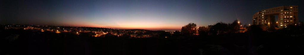 Sunset Panorama I