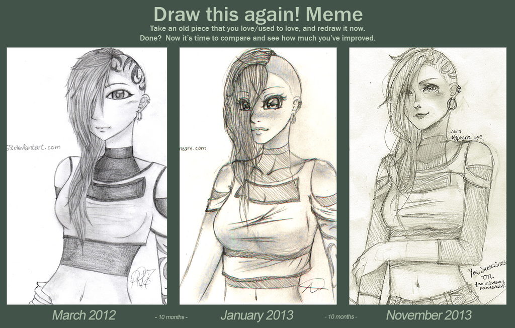 Before and After Meme by naoyi