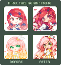 pixel again by naoyi