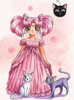 Little Lady, Luna and Artemis by Tyutya