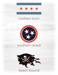 Northern born | southern raised | beach-bound by PWG44