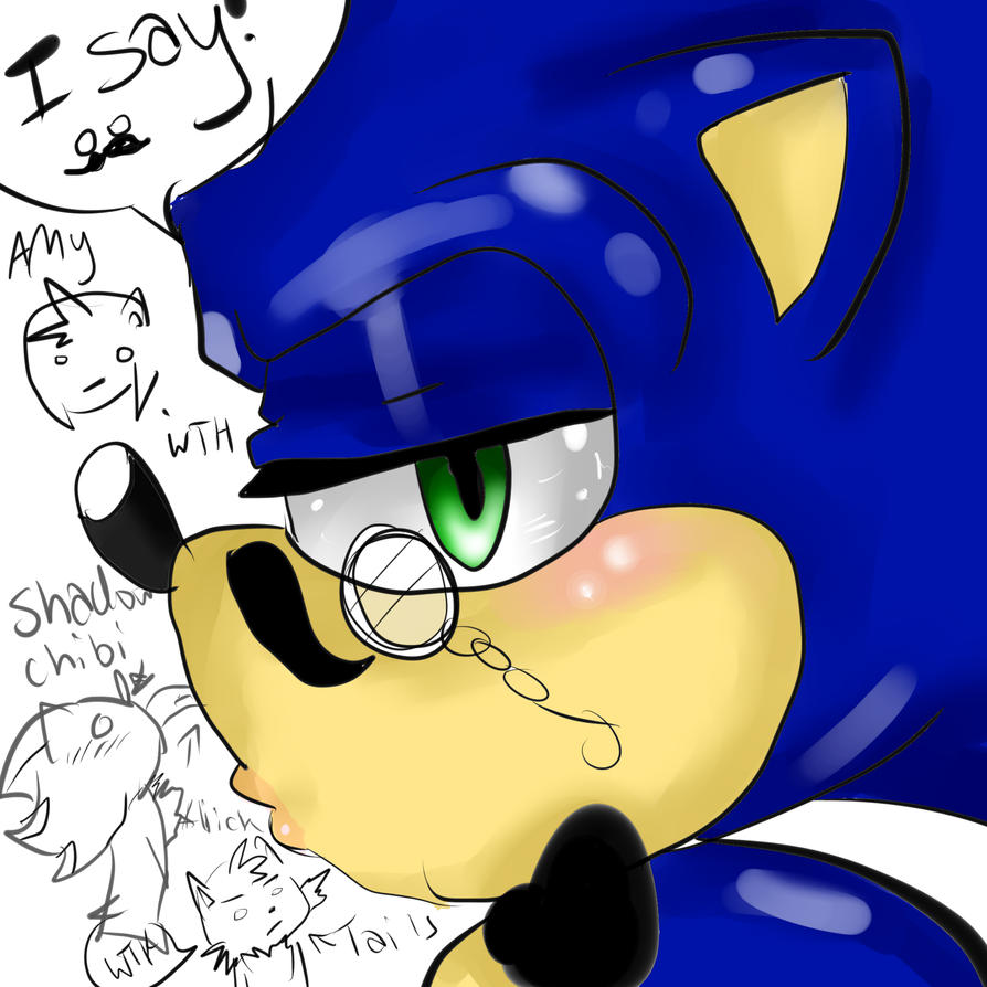 I SAY Sonic by AlmightyYing