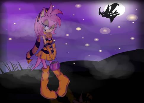 Amy In The Halloweeny Dark