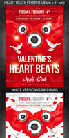 Heart Beats Flyer, PSD Template