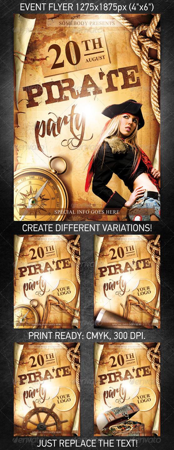 Free Pirate Invitations is perfect invitation template