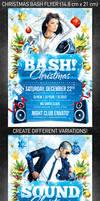 Christmas Bash Flyer, PSD Template