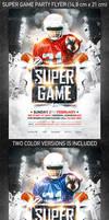 American football Super Game flyer vol.2
