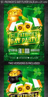 St. Patrick's Day Flyer Vol.3, PSD Template