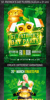 St. Patrick's Day Flyer Bundle, PSD Template
