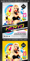 Guest DJ party flyer vol3, PSD Template