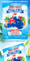 Australia Day Party Flyer vol.2