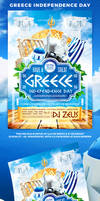 Greece Independence Day by 4ustudio