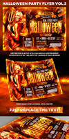Halloween Night Party Flyer vol2