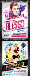 Guest DJ Party Flyer Bundle by 4ustudio
