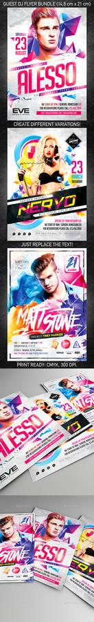 Guest DJ Party Flyer Bundle