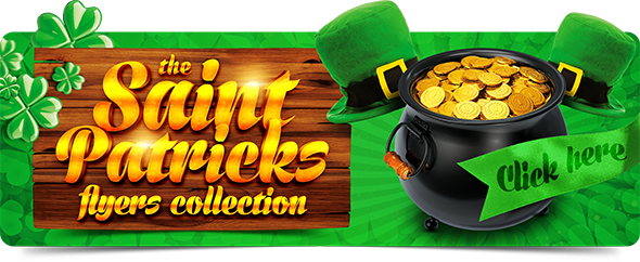 St. Patrick's Day Flyers Collection