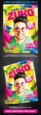 Guest DJ Party Flyer vol.11