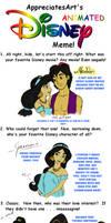 The Disney Movie Meme-Jasmine