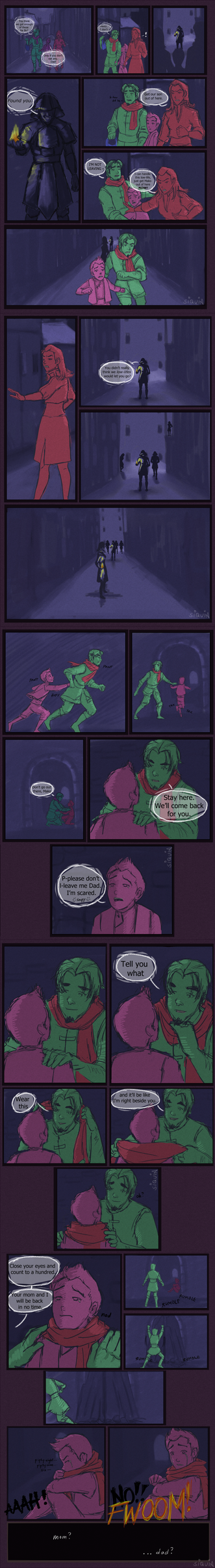 Mako and Bolin's Parents: What Really Happened by siquia