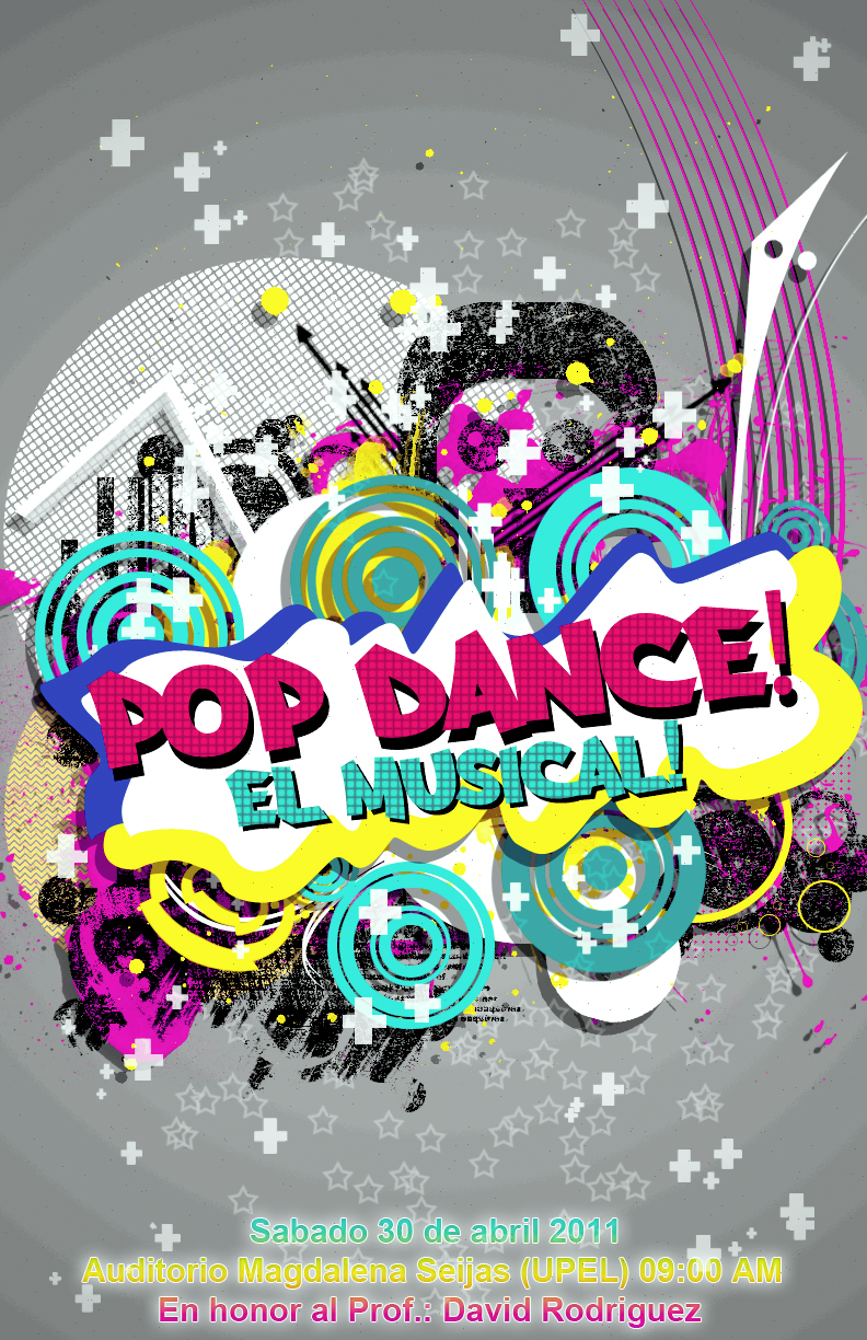 Pop Dance Poster 2 By NEAR 8