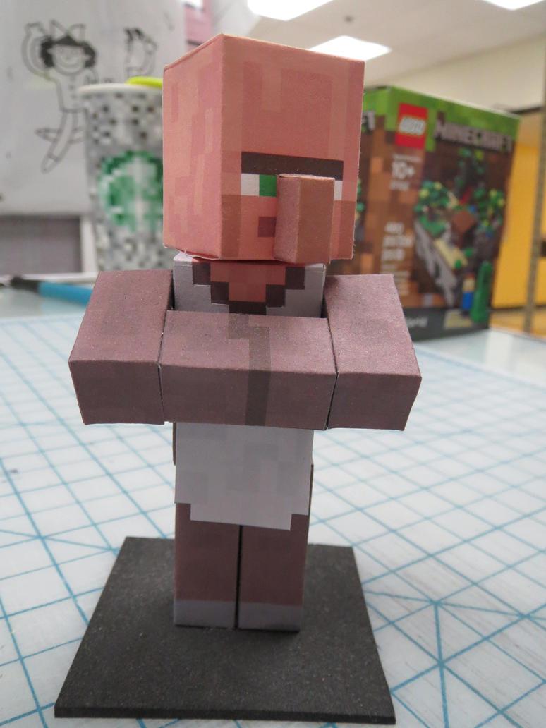 Minecraft Real Life Villager Bradley odom