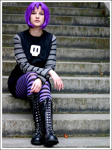 Invader zim gaz cosplay