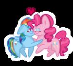 Pinkiedash Hugs o3o