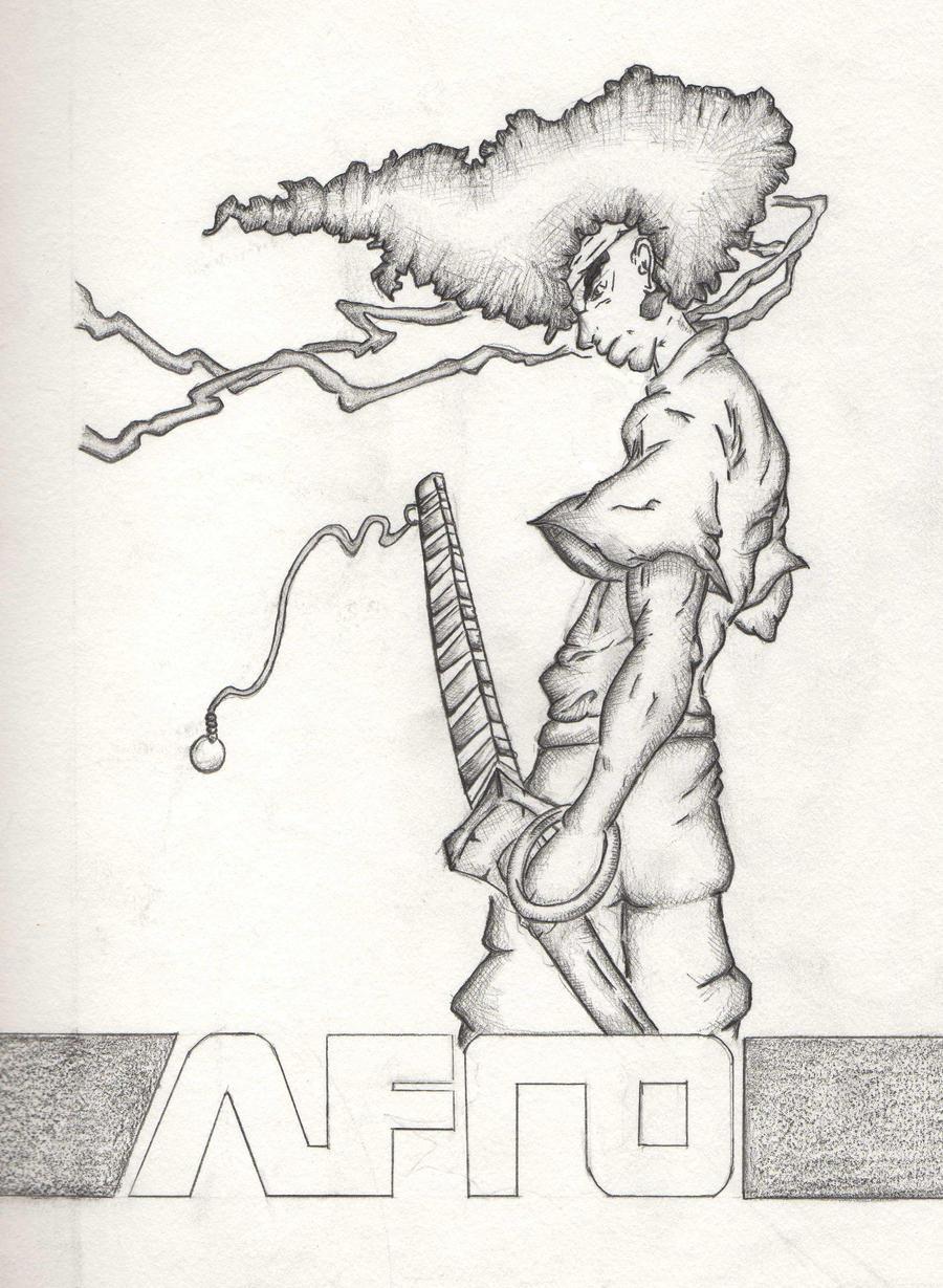 Afro Samurai Drawings Drawings Art Afro Samurai