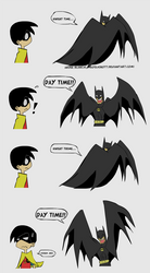 Batman - Dark Knight time... by NeoSlashott