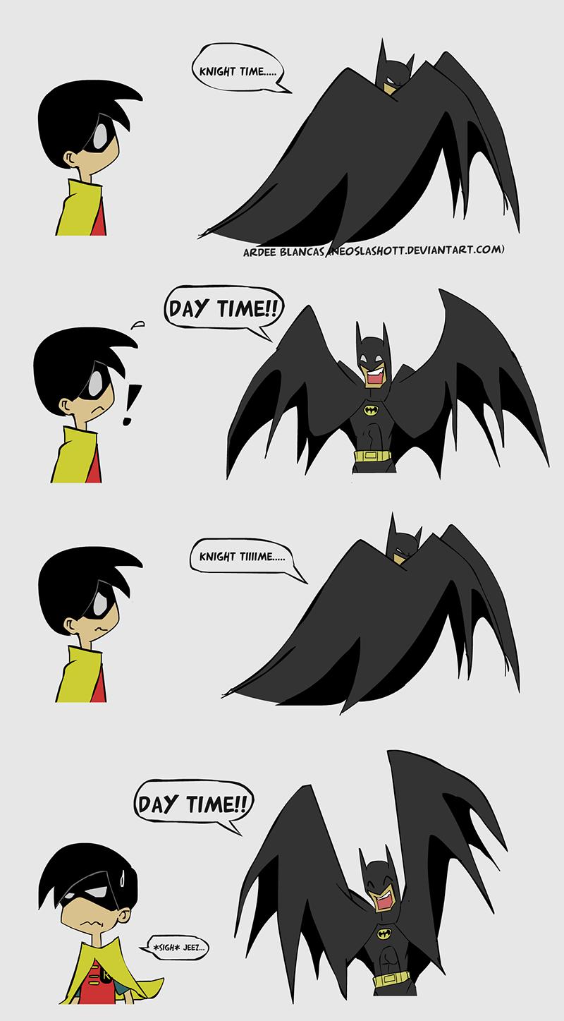 Batman - Dark Knight time... by NeoSlashott