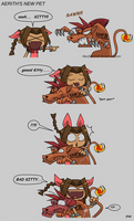 Aerith's new Pet by NeoSlashott