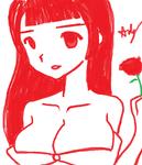 Random Lady - MS Paint Marker test