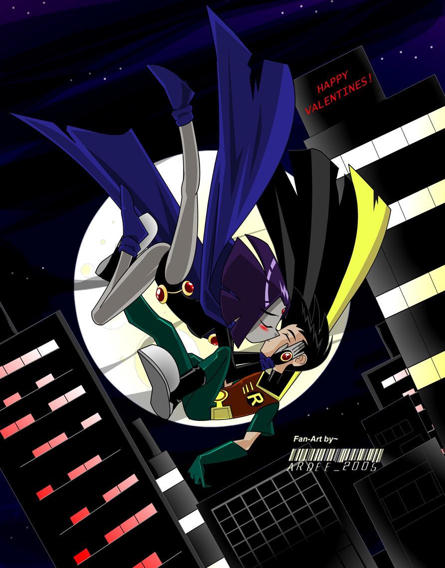 Teen Titans Valentine By NeoSlashott On DeviantArt