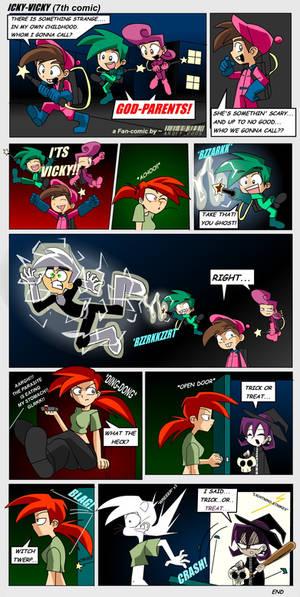Icky Vicky Comic 7