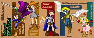 Tales of Magika- Characters by NeoSlashott